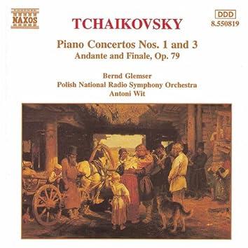 Tchaikovsky: Piano Concertos Nos. 1 and 3