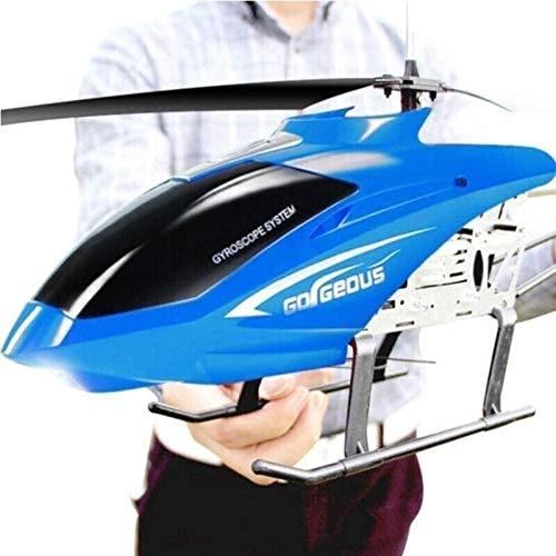Regalo Cable de carga USB Control remoto Helicóptero Juguetes con sistema de estabilización LED Interior / exterior Rojo Avión de juguete Helicóptero 3.5 Canales RC Drone Helicóptero para adolescentes