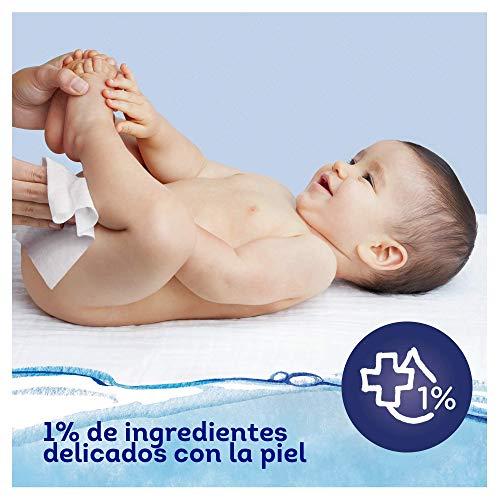 Dodot Toallitas Aqua Pure para Bebé, 99% Agua, 432 Toallitas, 9 Paquetes (9x48)