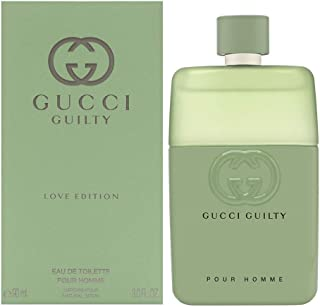Gucci Guilty Love Edition by Gucci Eau De Toilette Spray 3 oz Men