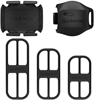 Garmin Speed Sensor 2 and Cadence Sensor 2 Bundle, Bike Sensors to Monitor Speed and Pedaling Cadence