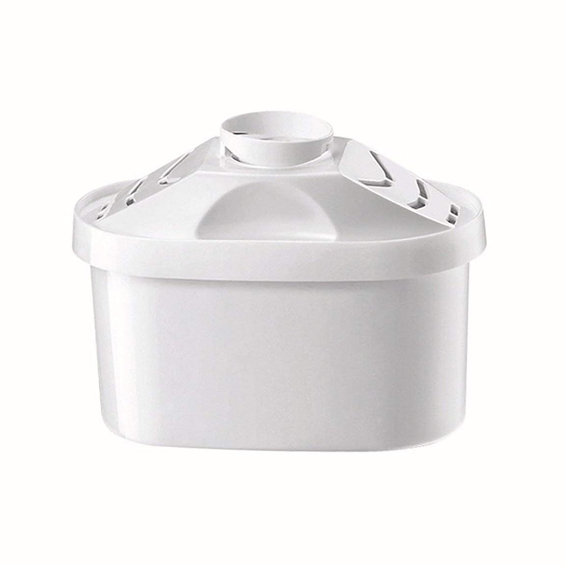 バンガロー肌延期するSaikogoods ブリタの水のピッチャーのためのケトルフィルター 活性炭 水フィルターカートリッジ 健康的なクリーンデバイスを 精製 白