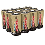 Tenergy CR123A Battery, 3.7V 650mAh Arlo Batteries Compatible with Arlo VMC3030 VMK3200 VMS3130 3230C 3430 3530 Wireless Security Cameras 12 Pack