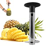 Stainless Steel Pineapple Corer Peeler Slicer Stem Remover - All in...