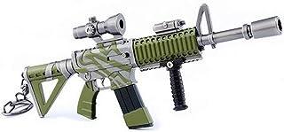 ARUNDEL SERVICES EU Ametralladora Llavero de Metal Videojuego Llavero Pistola Juguetes Llavero Colección Regalo
