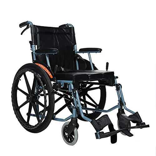 Reiserollstuhl Leicht Faltbar Feststellbremse Leichtes Gewicht,toilettenrollstuhl Rollstuhl Klappbar Mit Bremse,faltrollstuhl,transportrollstuhl Drive Medical Für Behinderte Reisen