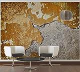 awallo Fototapete «Beton alt» in Braun, Grau, Kupfer | 350x255cm | XXL Bild-Tapete Wand-Bild Digitaldruck Vliestapete