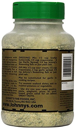 Johnny's Garlic Spread & Seasoning, 18 Oz (Pack of 2)