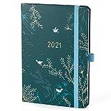 Boxclever Press Everyday Kalender 2021 A5. Wochenplaner mit vertikalem Layout. Familienplaner 2021...