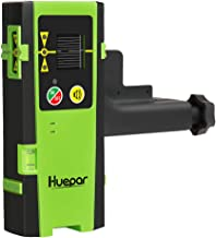 Huepar Laser Detector for Line Laser Level, Digital Laser Receiver Used with Pulsing Line..