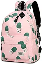 School Backpack Laptop Bag Girls Kids Boys Teens Bookbag Travel Daypack Cactus
