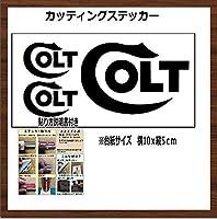 コルト COLT カッティングステッカー【黒】