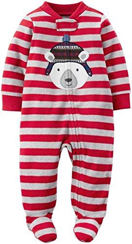 Carter's Baby Boy's One Piece - 6 Months - Red Polar Bear