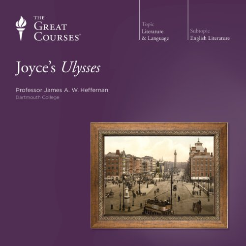 Joyce's Ulysses audiobook cover art