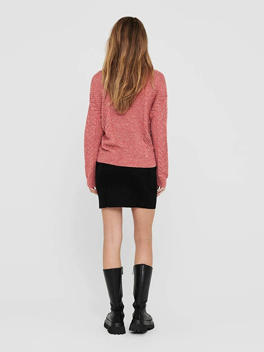 Only Onlfelice L//S Pullover CC Knt Suter Pulver para Mujer