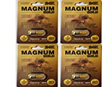 Magnum 24K Gold (4 Pack) Male Sexual Performance Enhancing Pill