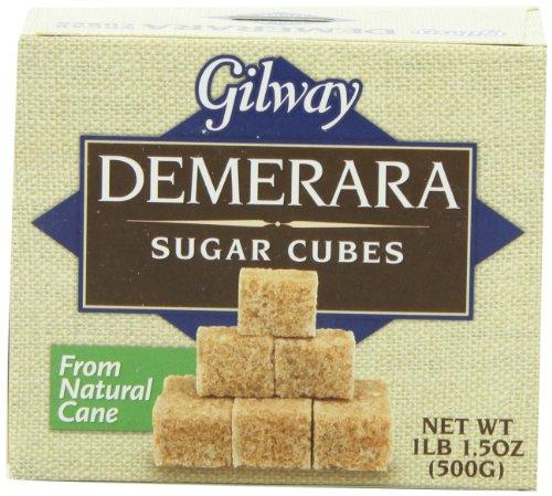 Gilway Demerara Sugar Cubes, 1.1 Pound (Pack of 10)