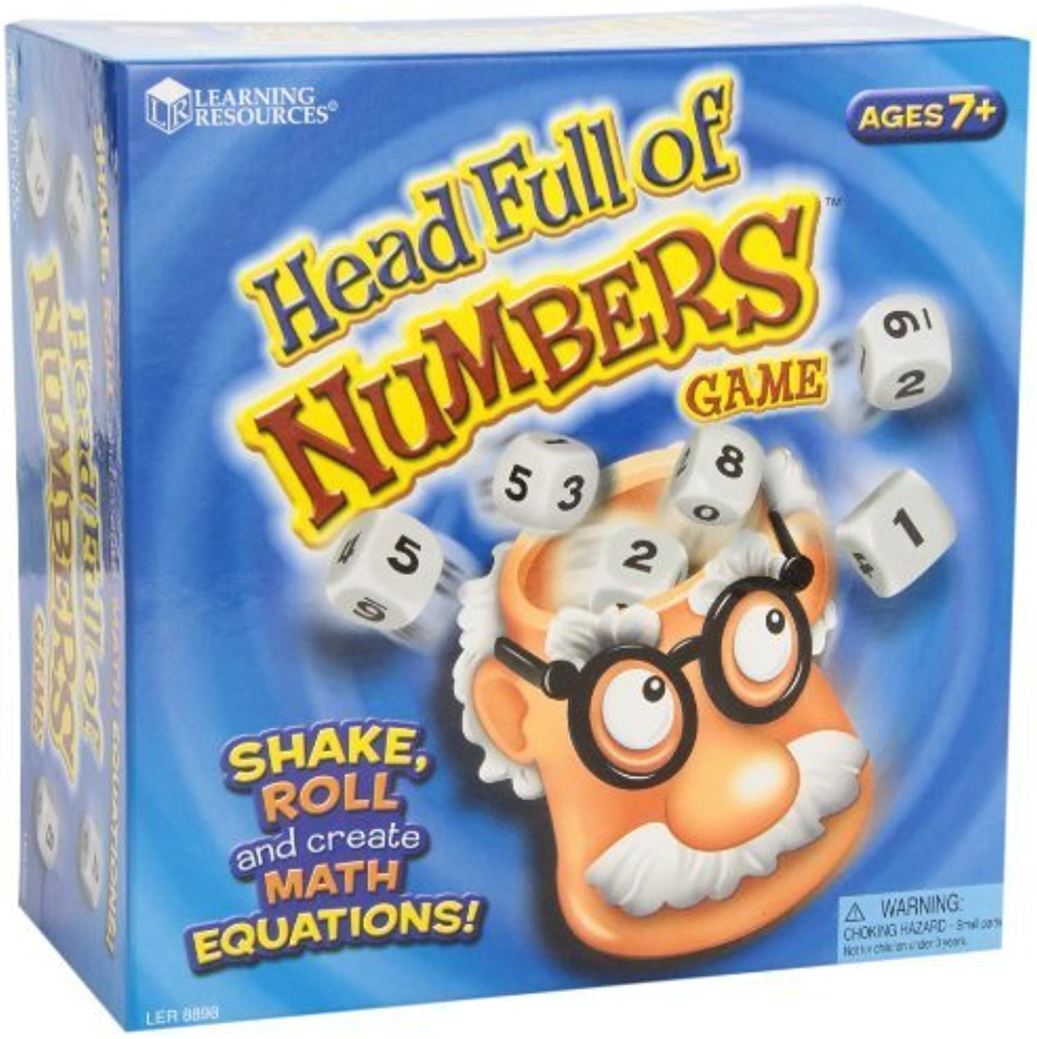 Learning Resources Head Full Of Numbers Math Game by Learning Resources [Toy]