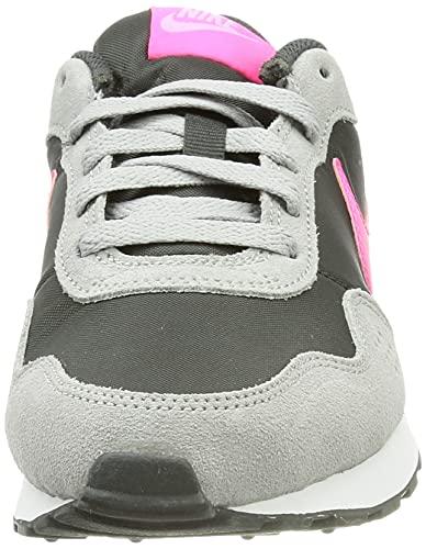 Nike MD Valiant Bg, Zapatillas Deportivas, Dk Smoke Grey Hyper Pink Lt Smoke Grey, 40 EU