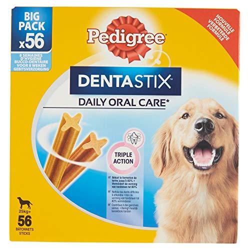 Pedigree Dentastix – Leckerlis für Hunde, 56 Stück