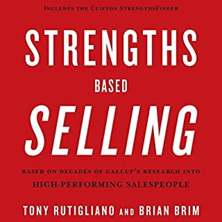 Strengths Based Selling audiobook cover art