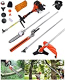 Best Gas Hedge Trimmers - Shueriu Hedge Trimmer Chainsaw Brush Cutter 52CC 6 Review