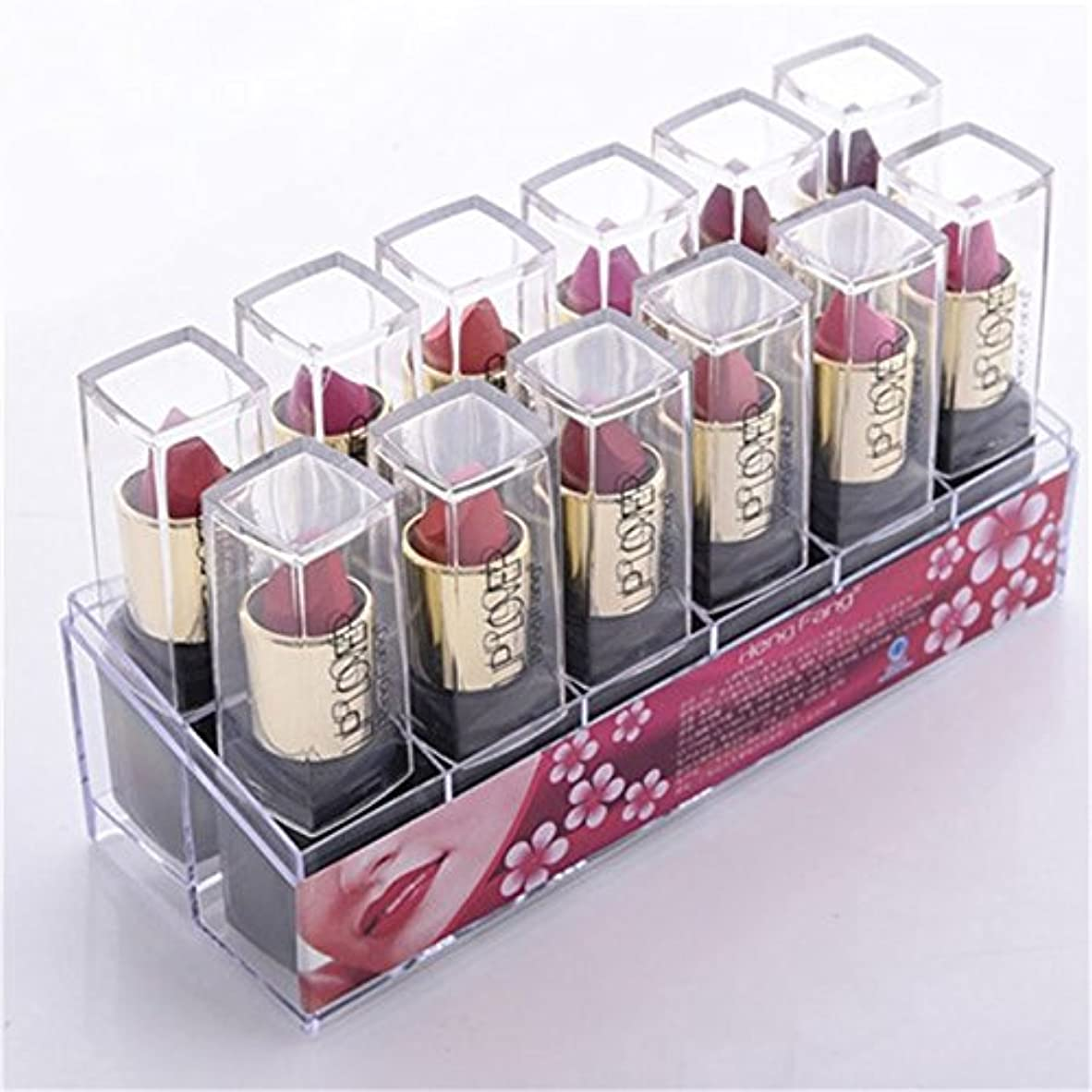 レスリングパキスタン人歩く2017 New 12pcs/set Lipsticks Sex Nude Lip Matte Kits Long Lasting Waterproof Pigment Matte Makeup Lipstick Set by HengFang