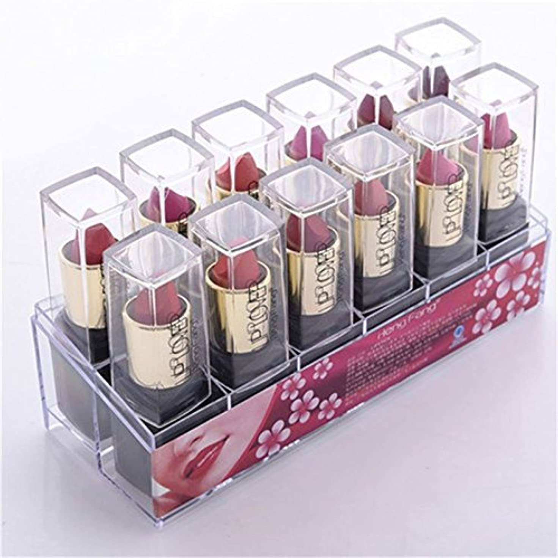 吐き出す充電タクト2017 New 12pcs/set Lipsticks Sex Nude Lip Matte Kits Long Lasting Waterproof Pigment Matte Makeup Lipstick Set by HengFang