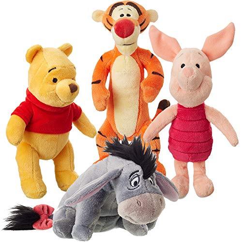 Winnie the Pooh Stuffed Animal Set and Friends Plush Toys