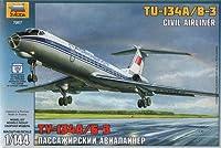 ズベズダ 7007 1/144 ツポレフ Tu-134B [並行輸入品]