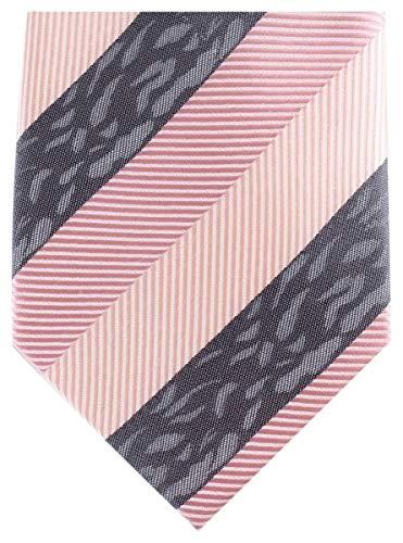 Knightsbridge Neckwear -  Cravatta - A righe - Uomo Rosa rosa Taglia unica