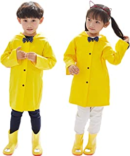 Aoduoer Kids Rain Jacket Packable Hooded Rain Coat for Girls Boys Toddlers Rain Gear, Halloween Cosplay Costumes