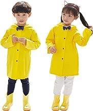 Aoduoer Kids Rain Jacket Packable Hooded Rain Coat for Girls Boys Toddlers Rain Gear, Halloween Cosplay Costumes