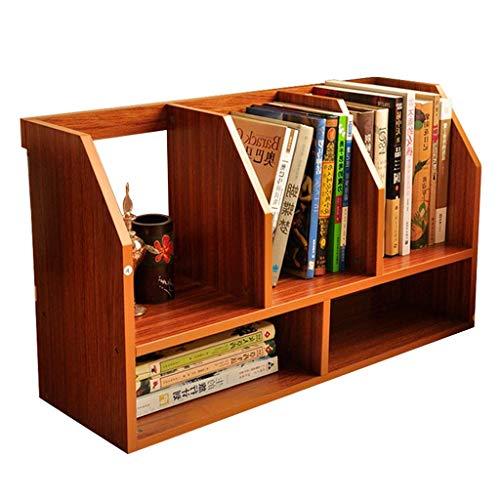 TELLMNZ Bücherregale Tischkombination Student Simple Desk Bücherregal Tischplatte Lesen Bücherregal Büro Schreibtisch Regal Kinder Malerei Regal Multiplex Regal