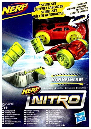 Hasbro E1271 Nerf Nitro Soft Racer Barrelslam - Coche teledirigido