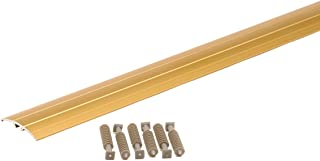 M-D Building Products 46137 M-D Multi-Floor Transition, 36 in L X 1-9/16 in W, Aluminum, Gold