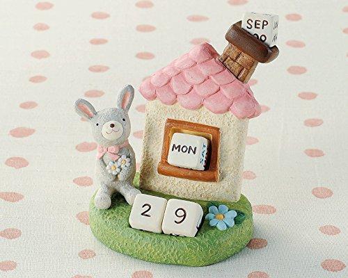便利な万年カレンダー定番ギフト 丸和貿易 ノーティーエブリデイカレンダー ウサギ 400671501