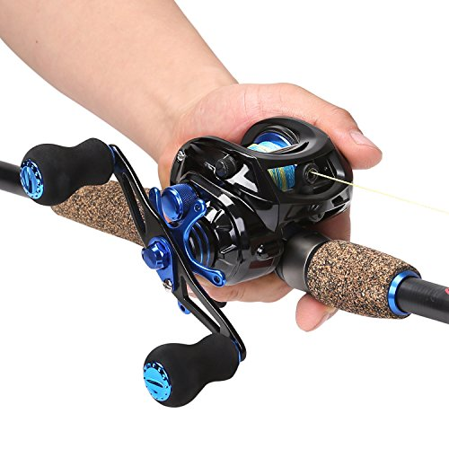 Sougayilang Baitcasting Fishing Rod with Reel Combos,...