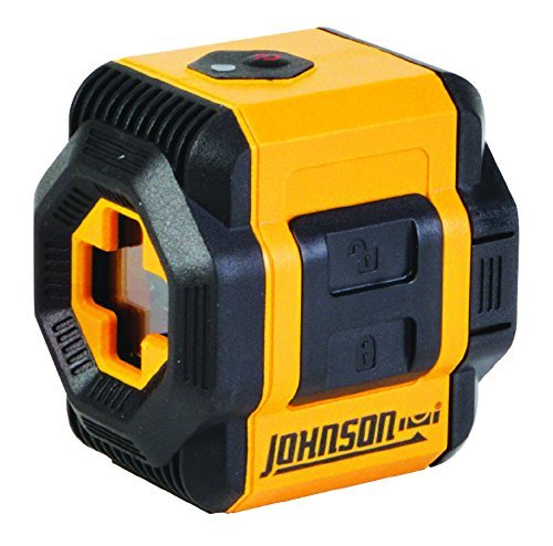 Johnson Level & Tool 40-6603 Self-Leveling Cross-Line Laser Level with...