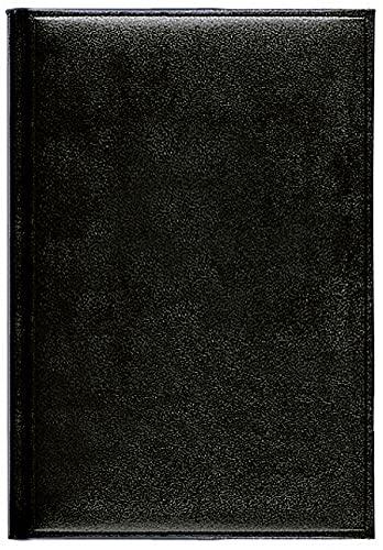Buchkalender Chef-Timer Balaton schwarz 2022: Terminplaner mit Tageskalendarium. Din A5 Terminkalender 1 Tag 1 Seite. Extra Platz für Notizen.