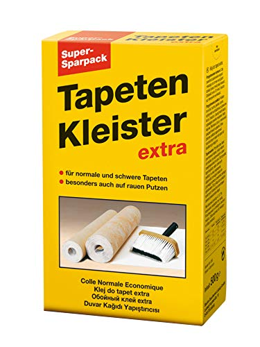 Baufan Extra Tapetenkleister Sparpack, transparent