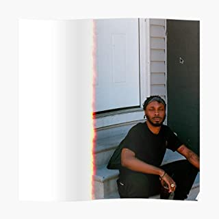 Poster: Jpegmafia Veteran Album Cover Poster (16.4 x 16.4 in) - Perfect for College Dorms, Student Rooms, and Bedrooms - Cool Popular Posters Design Gift