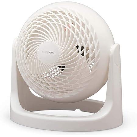 アイリスオーヤマ サーキュレーター 静音 14畳 マカロン マットデザイン 首振り固定 パワフル送風 コンパクト PCF-MKM18N-W ホワイト