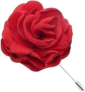 Tooky - Broche hecho a mano con diseño de flor