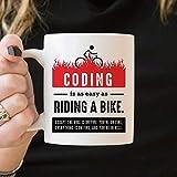 N\A Taza de codificador, Taza de Ingeniero de Software, Regalos de Ingeniero de Software, Regalos de codificación, Taza de codificación, Taza Divertida de Programador, Regalos de informática