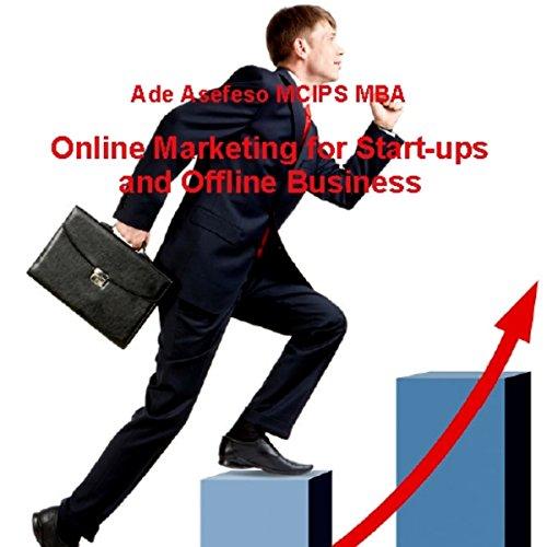 Online Marketing for Start-Ups and Offline Business audiobook cover art