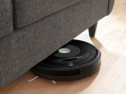 iRobot Roomba 671 Robot aspirapolvere con connessione WiFi, Adatto a tappeti e Pavimenti, Tecnologia Dirt Detect, Sistema 3 Fasi, Pulizia programmabile, Grazie alla App