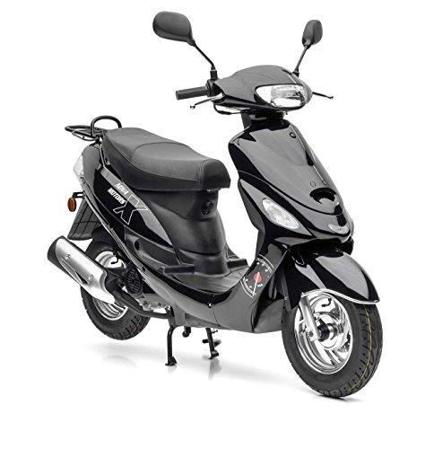 Nova Motors City Star ie 50 schwarz Euro 4-25km/h Mofa - fahrbereite Lieferung inklusive