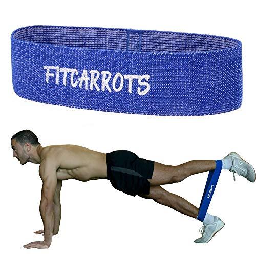 Loop Bands, Hip Bands, Fitnessbänder, Trainingsbands, Gymnastikbands für Bein- und Po-Training mit Trainingsguide im Set oder einzeln (Schwer)