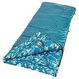 Coleman Kid Camo Youth Sleeping Bag , Blue